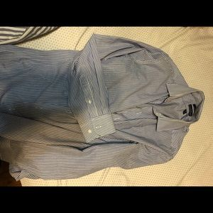 Dockers striped button up shirt. Size medium